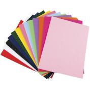 Glimmer EZ Felt 23cm by 30cm , 25/Pkg, Assorted Colours