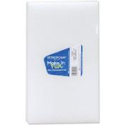 Flora Craft B7125WS Styrofoam Block 11-7/8X6-5/8X1-3/16 1/Pkg