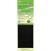 Clover 9504 Shape n Create With Nancy Zieman Bag and Tote Stabilizer-Black 5 in. x 20 in. 2-Pkg
