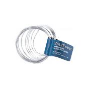WireForm Armature Modelling Wire, 0.2cm Diameter x 2.4m Coiled Soft Aluminium