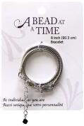 Janlynn ABATBRS-002 A Bead At A Time Silver Finish Bracelet 1/Pkg