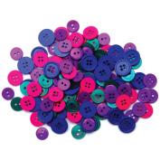 Blumenthal Lansing 5500BB-423 Favorite Findings Basic Buttons Assorted Sizes 130/Pkg