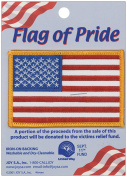 Joy S.A. 102477 Flag Of Pride Iron-On Applique-2.5 in. x 3.5 in. 1-Pkg