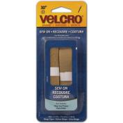 hook and loopr) Brand Fasteners 91617 Hook & Loop- R - brand Sew-On Tape .75 in. x 30 in. -Beige