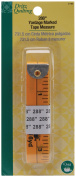 Dritz Quilting Yardage Marked Tape Measure-730cm Yellow