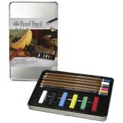 Royal Brush 422667 Pastel Pencil Art Set with Tin