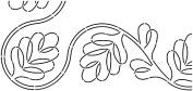 Quilt Stencils By Pepper Cory-18cm C. L. Blackberry