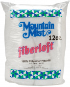 Mountain Mist Fiber 51065 Fiberloft Polyester Stuffing-12 Ounces FOB -MI