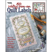 Leisure Arts 307384 Leisure Arts-50 Nifty Iron-On Quilt Labels