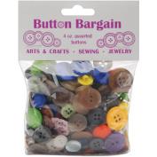 Button Bargain 120mls-Assorted Colours