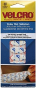hook and loop r) brand Wafer Thin Ovals 3.8cm X.13cm 40/Pkg-