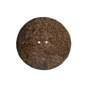 Vision Trims V1755 Handmade Coconut Button-Round 2 in.