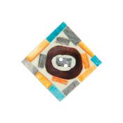 Handmade Bone Button-2.5cm - 1.3cm Square Painted