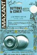 Maxant Button 90977 Cover Button Refill-Size 60 1.5 in. 2-Pkg