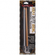 Metallic Scribe Pencils 3/Pkg W/Sharpener-Silver/G