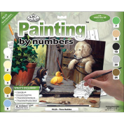 Junior Large Paint By Number Kit 39cm X 29cm