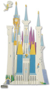 Disney Vacation Dimensional Stickers, Disney Castle