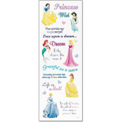 Sticko DPHRP01 Disney Princess Stickers-Phrase