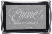 Encore Ultimate Metallic Inkpad-Silver