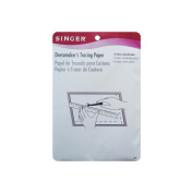 Singer Dressmakers Tracing Paper Assorted Colours, 6 Sheets Multi-Coloured