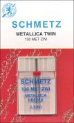 Double Metallic Machine Needle -Size 2.5/80 1/Pkg