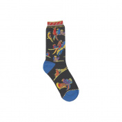 K Bell 85076 Laurel Burch Socks-Birds Of Paradise