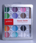 Pebbles Inc. I Kan'dee Chalk Set, Basic Brights