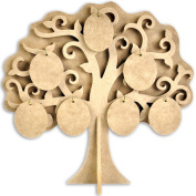 Beyond The Page MDF Family Tree-29cm x 30cm