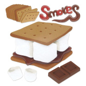 Jolee's Boutique Dimensional Stickers-Smores