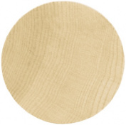New Image Group 226149 Wood Turning Shapes Value Pack-Circle 3 in. x .13 in. 6-Pkg
