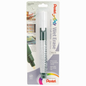 Pentel 370396 Pentel Wet Erase Chalk Marker 1-Pkg-White