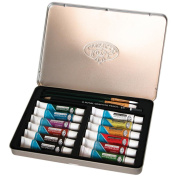 "Watercolour Paint Art Kit With Tin 22cm x6""-"