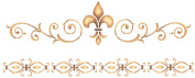 Stencil Magic Decorative Stencils-Elegant Fleur De