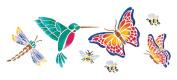 Stencil Magic Decorative Stencils-Butterflies & Mo
