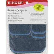 Denim Iron-On Repair Kit-Assorted Colours