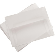 Leader A6 Parchlucent Vellum Envelopes (12cm x 17cm ) 25/Pkg-Clear
