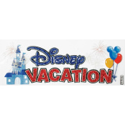 Sticko 395224 Disney Vacation Title Dimensional Sticker