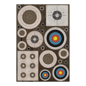 "Hunting Cardstock Stickers 14cm X9""-Targets"