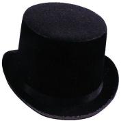 Costumes For All Occasions Ga101Md Top Hat Black Felt Medium
