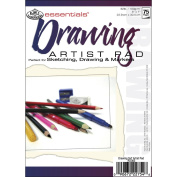 Royal Brush 422615 Essentials Drawing Paper Pad 5 in. x 7 in. -75 Sheets