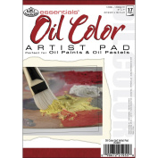 Royal Brush 422613 Essentials Oil Color Paper Pad 5 in. x 7 in. -17 Sheets
