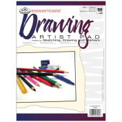 Royal Brush 350707 Essentials Artist Paper Pad 9 in. x 12 in. -Drawing-100 Sheets