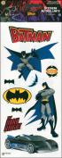 "Batman Stickers 5.5""X14"" Sheet-Accents"