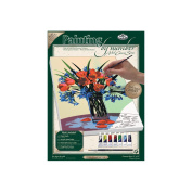 "Paint By Number Kits 23cm X12""-Floral Still Life"