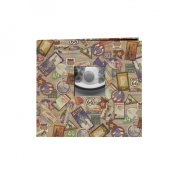 Pioneer MB10MAP-T Travel Postbound Album With Photo Window 12 x 12 Inch
