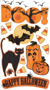 Vellum Stickers-Boo