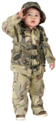 Costumes For All Occasions FW113061TL Delta Force Authentic Toddler 3T-4T