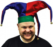 Costumes For All Occasions Gc176 Jester Velvet Hat