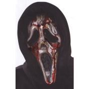 Costumes For All Occasions FW8930 Ghost Face Bleeding Zombie Mask