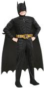 Rubie's Costume Co 32965 Batman Dark Knight Deluxe Muscle Chest Batman Child Costume Size Medium- Boys 8-10